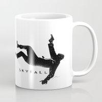 skyfall Mugs featuring Skyfall by Arian Noveir