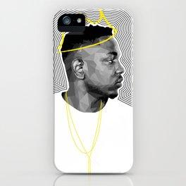 King Kendrick iPhone Case
