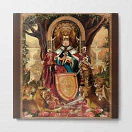 The Lion Queen Metal Print