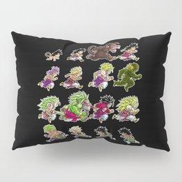 Evolutions of Broly Pillow Sham
