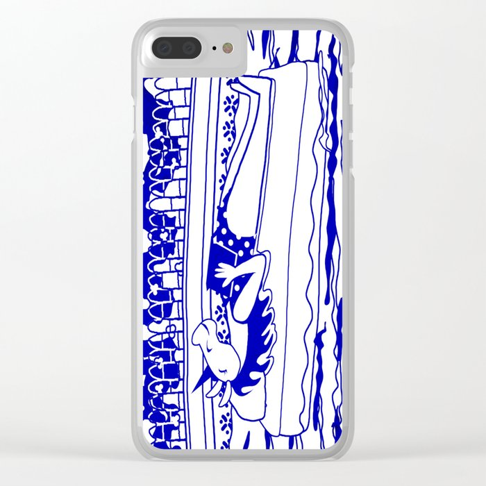 Pool Time Unicorn V2 Clear iPhone Case