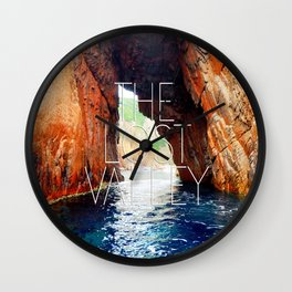 The lost valley Wall Clock
