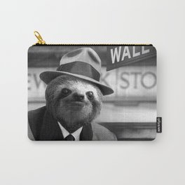 Sloth in Wall Street Carry-All Pouch