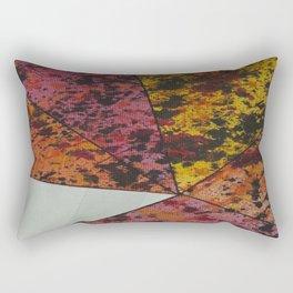 Corner Splatter # 10 Rectangular Pillow