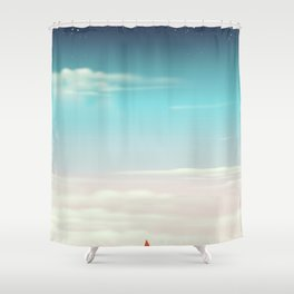 Desert Dunes Shower Curtain