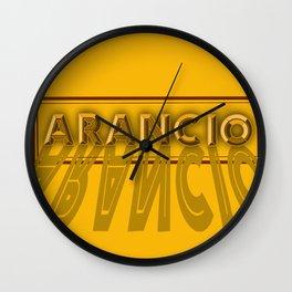 Arancio Wall Clock
