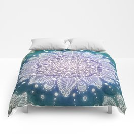 Peacock Mandala Comforters