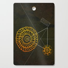 Looking for Ancestral Treasures Cutting Board