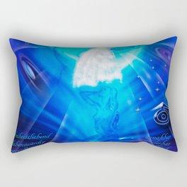 Zodiac sign Aquarius - Wassermann Rectangular Pillow
