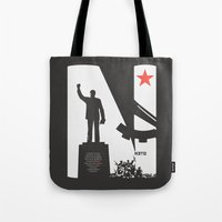1975 Tote Bags featuring Neto 11Nov 1975 Black by O ilusionista