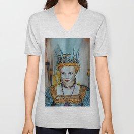 Queen Charlize Unisex V-Neck