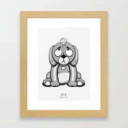 Critter Alliance - Poor Puppy Framed Art Print