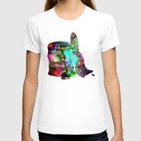 splatter T-shirts featuring Paint splatter  by Sammycrafts