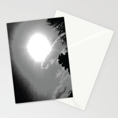 light repel the darkness Stationery Cards