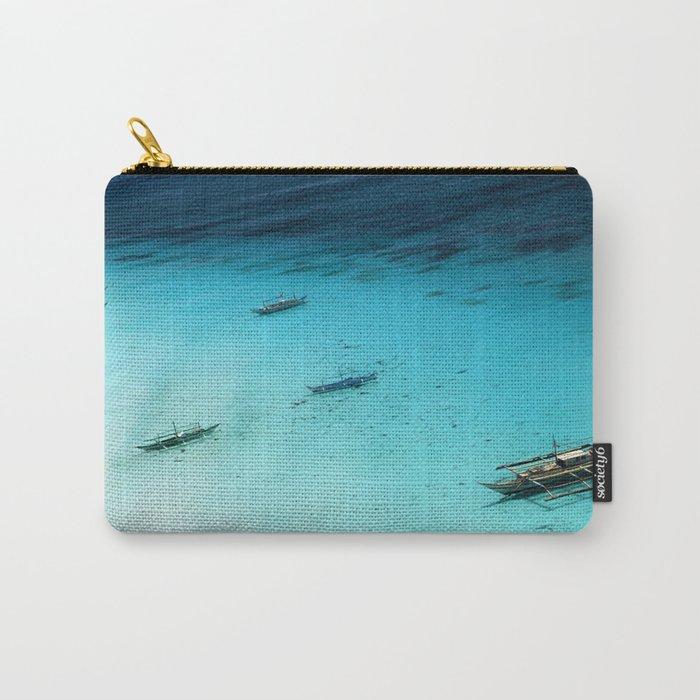 White Beach Boracay Carry-All Pouch