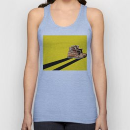 At the end of the road Unisex Tank Top