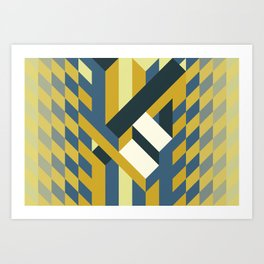 The Checker Of The Mystique Art Print