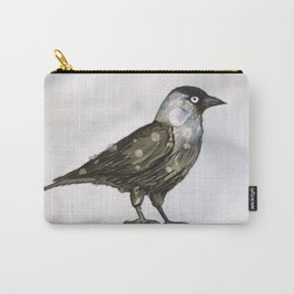 Western jackdaw Carry-All Pouch
