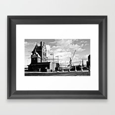 Hanseatic. The house of the pilotage in Stralsund. Framed Art Print