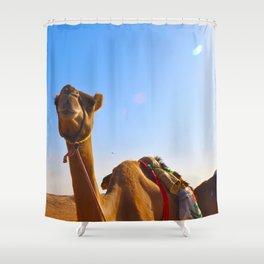 Camel Face Shower Curtain