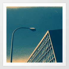 POP architecture  Art Print