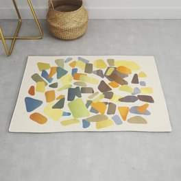Colored Glass Rug