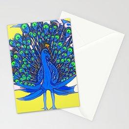Peacock Art Jen Stationery Cards