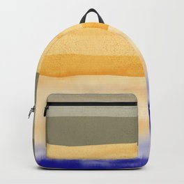 Brush Strokes Art, Watercolor, Color Theory Home Accessories Backpack