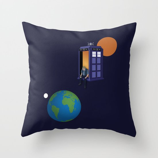 A WhoView Throw Pillow