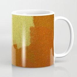 Eggs & Salsa Abstract Glass Coffee Mug