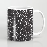 dots Mugs featuring Dots by Priscila Peress