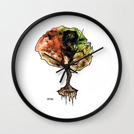 A Tree of Life Wall Clock