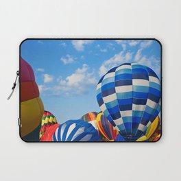 Vibrant Hot Air Balloons Laptop Sleeve