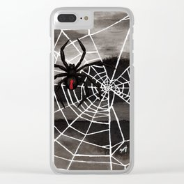 Redback Spider Clear iPhone Case