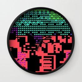 cityscape 07A ZX (C64 Re-remix) (2011) Wall Clock