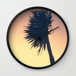 Fistral Palm Wall Clock