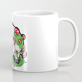 MOOSHROOM Cow with Mushrooms fly agaric Cartoon Coffee Mug