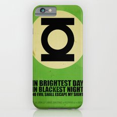 Green Lantern (Super Minimalist series) Slim Case iPhone 6s