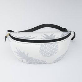 Silver Pineapples Fanny Pack