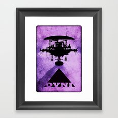 OVNI Framed Art Print