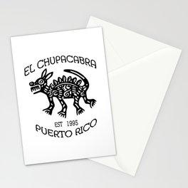 El Chupacabra Stationery Cards
