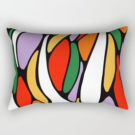 J'y arrive-Getting there- Serré. Rectangular Pillow