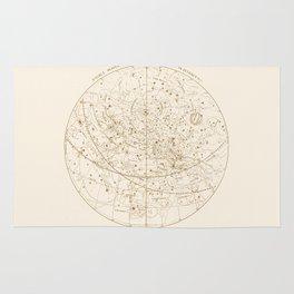 Visible Heavens - Gold Rug