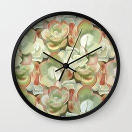 Sedum Garden Wall Clock