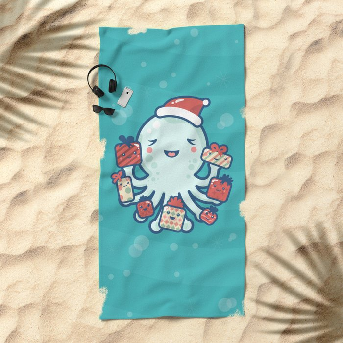 The Gift Giver Beach Towel
