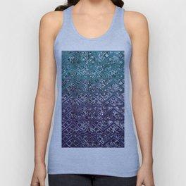 Purple Aqua MERMAID Glitter Scales Dream #2 #shiny #decor #art #society6 Unisex Tank Top