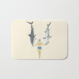 The Shark Charmer Bath Mat