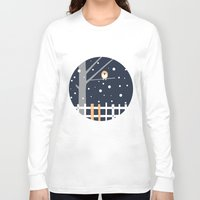 robin Long Sleeve T-shirts featuring robin by liva cabule