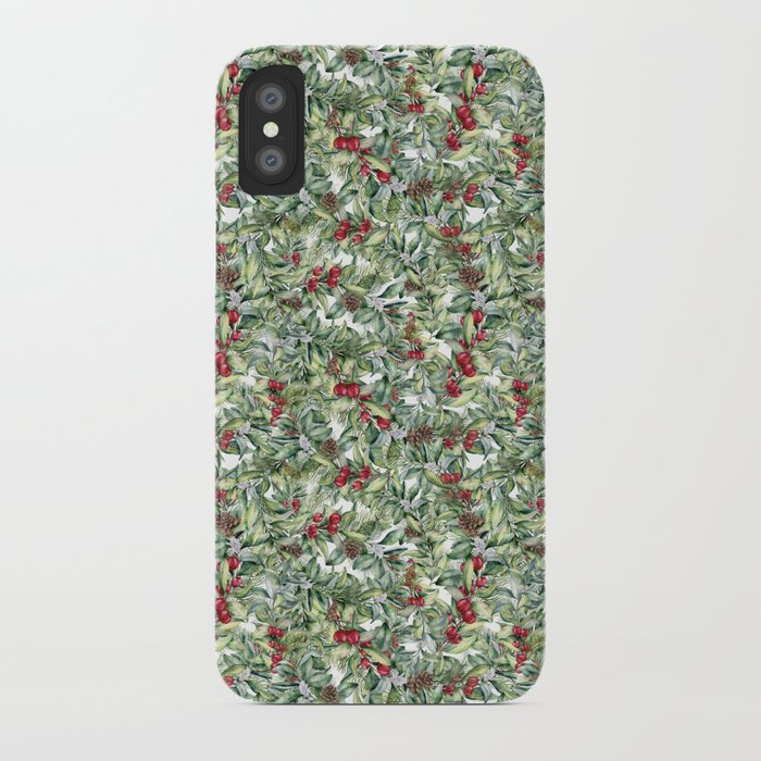 elegant christmas iphone case
