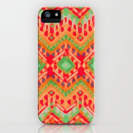 itzel - candy + lime iPhone Case